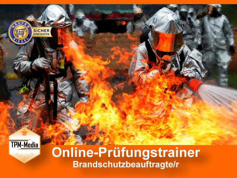 Onlinetrainer Brandschutzbeauftrager