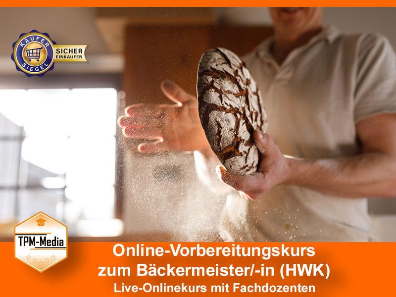 Online-Livekurse zum Bäckermeister/-in