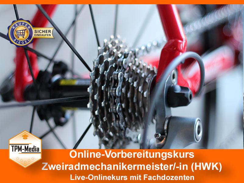 Online-Livekurse zum Zweiradmechanikermeister/-in
